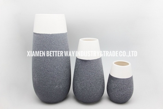 Ceramic home decoration vases